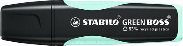 Markeerstift STABILO Green Boss vleugje turquoise