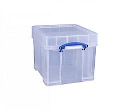 Opbergbox Really Useful 35 liter 480x390x345 mm transparant wit