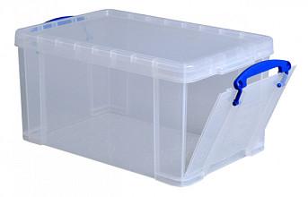 Opbergbox Really Useful 14 liter 395x255x210 mm transparant wit