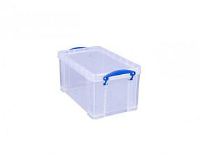 Opbergbox Really Useful 8 liter 340x200x175 mm transparant wit