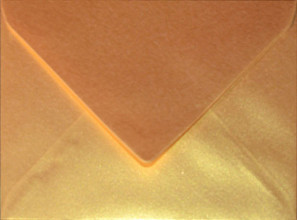 Envelop Papicolor EA5 156x220mm metallic goud-pearl