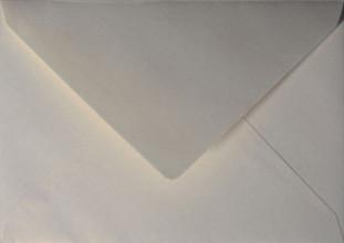 Envelop Papicolor EA5 156x220mm metallic ivoor