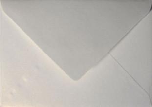 Envelop Papicolor EA5 156x220mm metallic parelwit