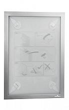 Duraframe Durable 484323 A4 zilver