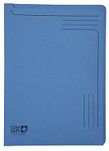 Insteekmap L-model Exacompta Clean'Safe bedrukt blauw