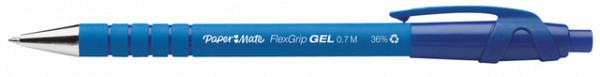 Gelschrijver Paper Mate Flexgrip 0.7mm blauw