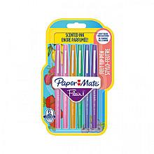 Fineliner Paper Mate Flair met geur blister à 6 kleuren