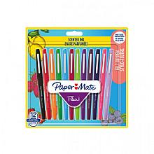 Fineliner Paper Mate Flair met geur blister à 12 kleuren