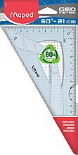 Tekendriehoek Maped 21cm 60graden