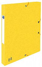 Elastobox Oxford Top File+ A4 25mm geel