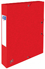 Elastobox Oxford Top File+ A4 40mm rood
