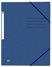 Elastomap Oxford Top File+ A4 donkerblauw