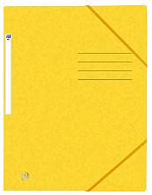 Elastomap Oxford Top File+ A4 geel