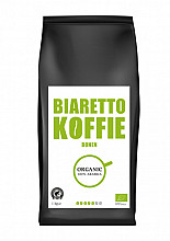 Koffie Biaretto bonen regular biologisch 1000 gram