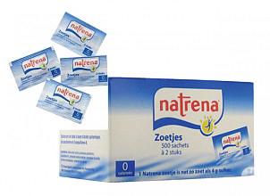 Zoetjes Natrena 500 sachets met 2 stuks