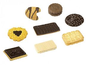 Koekjes Elite Delicious koekjesmix met chocolade 120 stuks