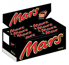 Mars repen single 51gr 32 stuks