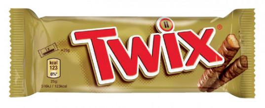 Twix repen single 25x50gr
