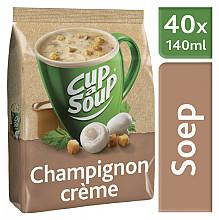 Cup-a-soup machinezak champignon creme met 40 porties
