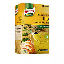 Drinkbouillon Knorr kip met tuinkruiden 80 zakjes