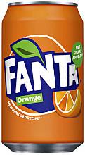 Frisdrank Fanta Orange blikje 0.33l