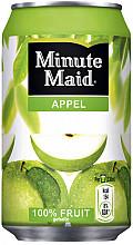 Frisdrank Minute Maid Appelsap blikje 0.33l