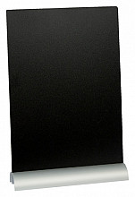 Krijtbord Securit A4 29x21x6cm voet aluminium