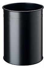 Papierbak Durable 3304-01 15liter rond zwart