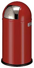 Afvalbak Wesco Pushboy rood 50liter