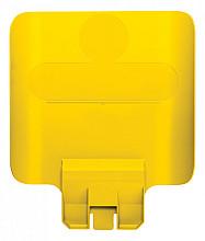 Paneel Slim Jim Recyclestation geel