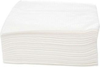 Servetten 24x24cm 1 laags 500 stuks wit