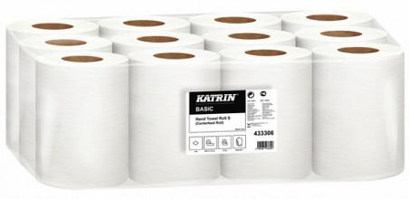 Handdoekrol Katrin 433306 Centerfeed S 1laags 18cmx100m