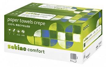 Handdoek Satino Comfort C-vouw 25x31cm 1-laags 3600st