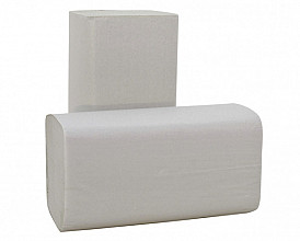 Handdoek Blanco Z-vouw 2L 25x23cm 3800st