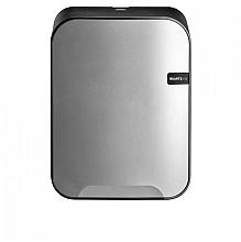 Dispenser Euro Quartz poetsrol midi zilver