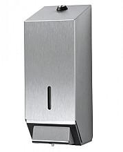 Dispenser Euro zeep 1000ml navulbaar RVS