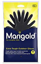 Huishoudhandschoen Marigold Outdoor zwart medium