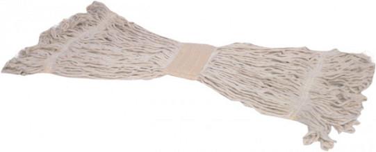 Mop King Strengenmop met band katoen gelust 450 gram