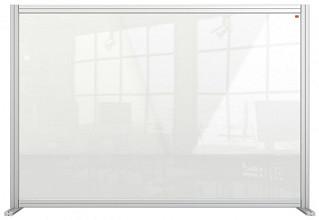 Bureauscherm Nobo modulair transparant acryl 1400x1000mm