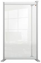 Bureauscherm uitbreidingspaneel Nobo Modulair transparant acryl 600x1000mm