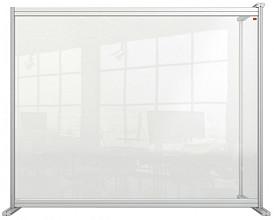 Bureauscherm uitbreidingspaneel Nobo modulair transparant acryl 1200x1000mm