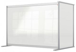 Bureauscherm uitbreidingspaneel Nobo modulair transparant acryl 1400x1000mm