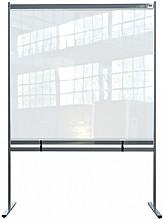 Scheidingswand Nobo vrijstaand doorzichtig PVC 1480x2060mm