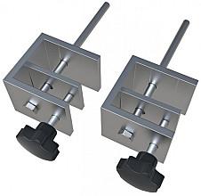 Bureauklemmen voor Nobo bureauscherm set à 2 stuks