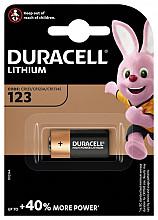 Batterij Duracell 1xCR123 high power lithium