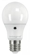 Ledlamp Integral Auto Sensor E27 5,5W 2700K warm 470lumen