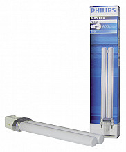 Spaarlamp Philips Master PL-S 2P 9W 600 Lumen 830 warm wit