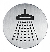Infobord pictogram Durable 4938 douche 83Mm