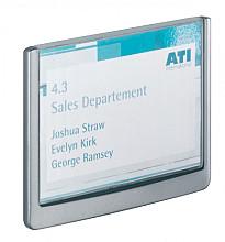 Deurbordje Durable Click sign 149x105.5mm grafiet