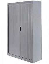 Roldeurkast 50H aluminiumlook